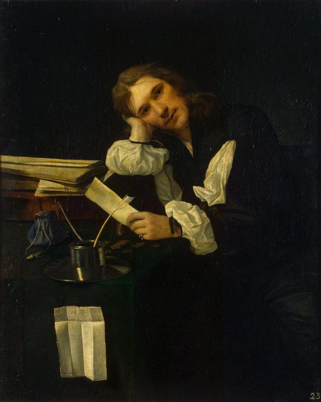 Михиель Свертс. Портрет молодого человека