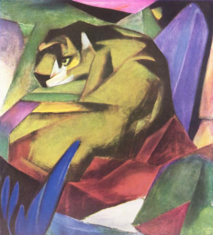 Франц Марк. Тигр