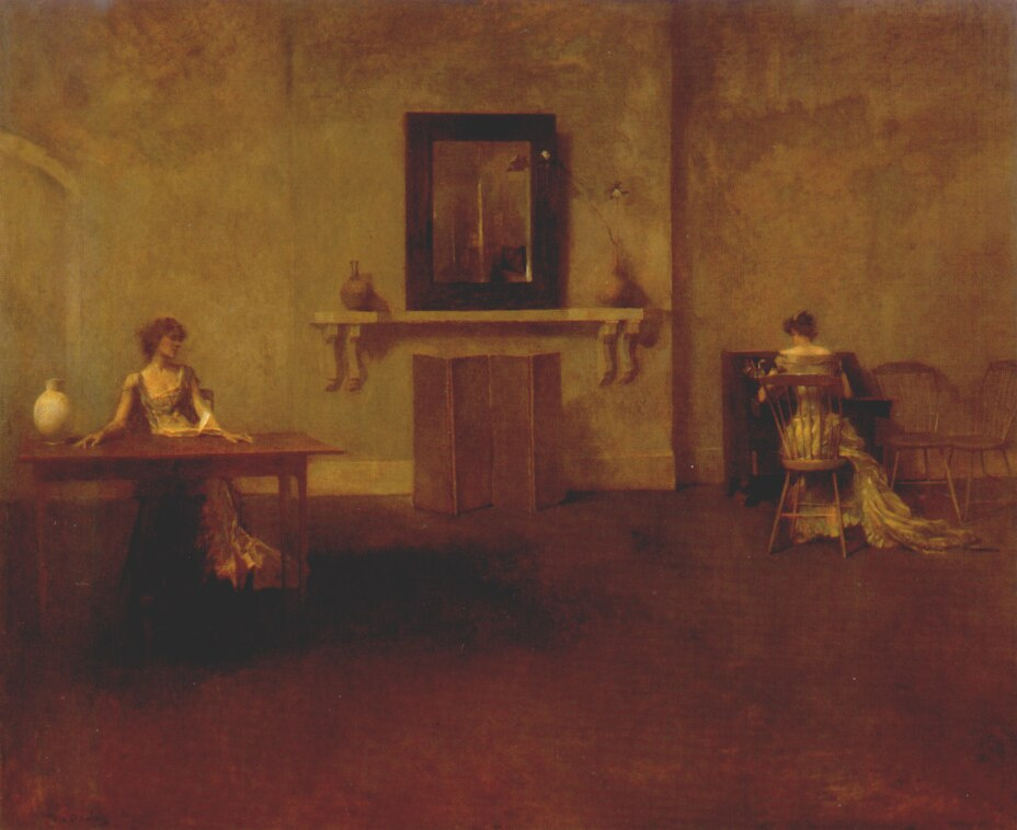 Thomas Wilmer Dewing. Letter