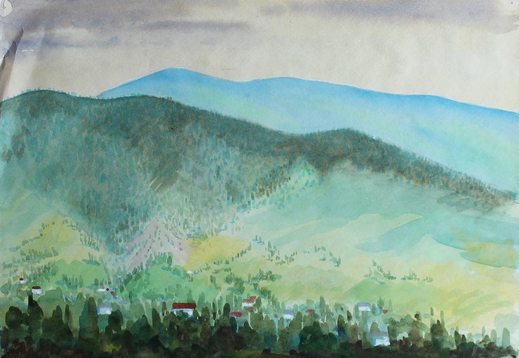 Igor Mikhailovich Chaiko. Scenery. The mountains