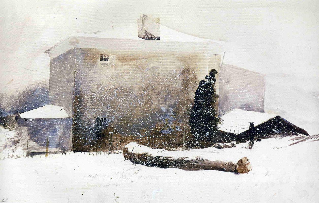 Эндрю Уайет. Первый снег