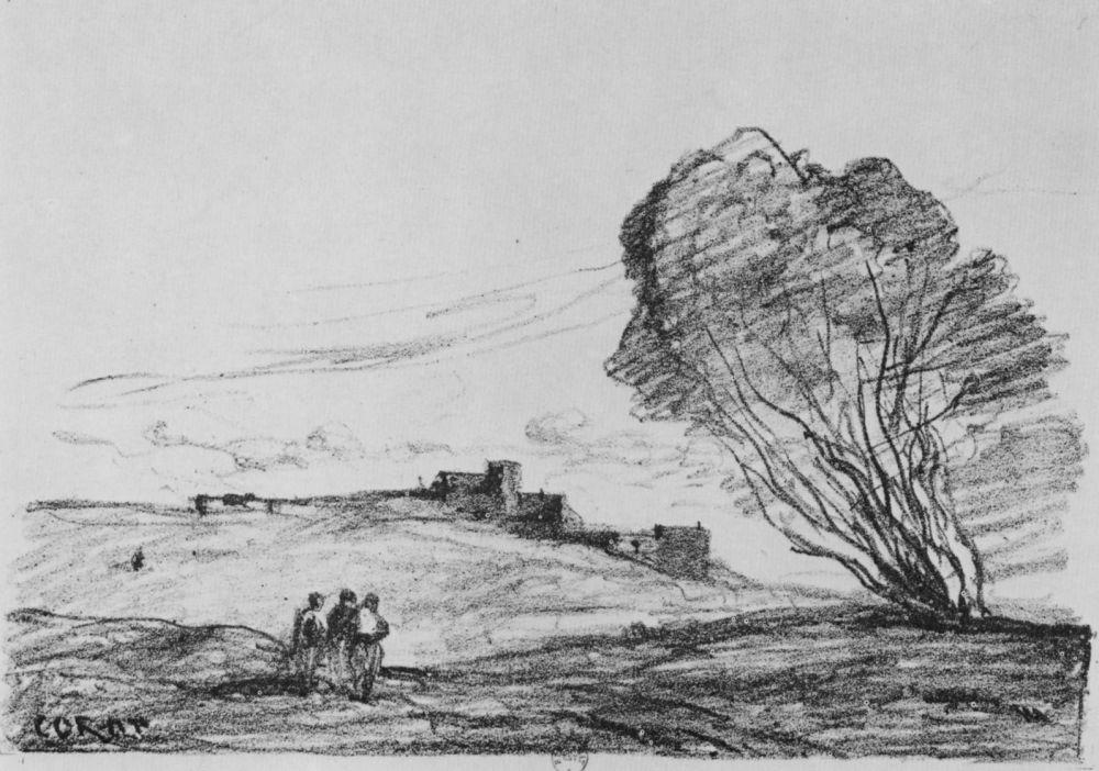 Камиль Коро. Одинокая крепость
