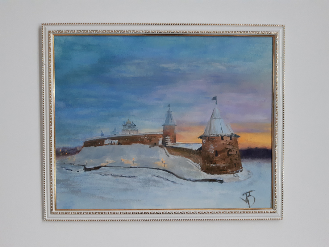 Unknown artist. Pskov chrome