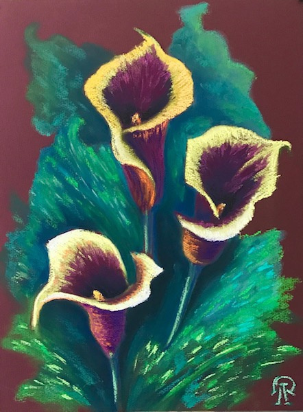 Larissa Lukaneva. Calla lilies