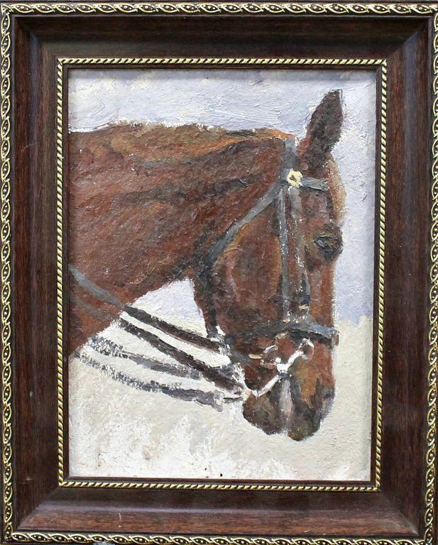 Orest Georgievich Betekhtin. Horse's head