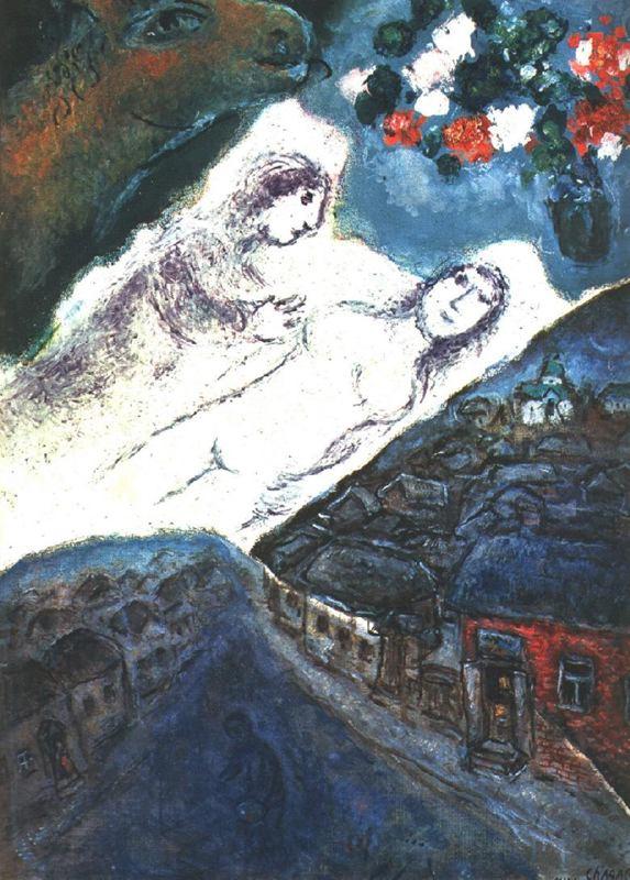Marc Chagall. Dream