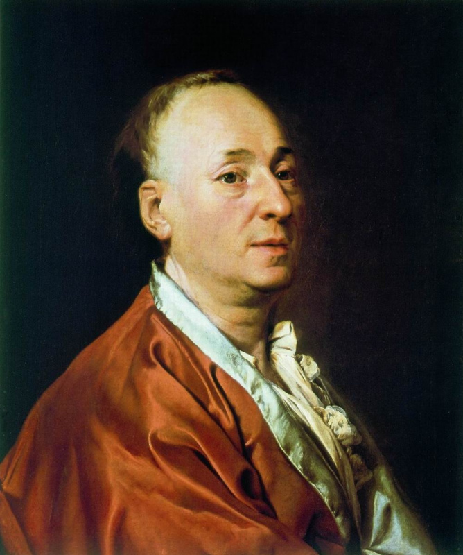 Dmitry Grigorievich Levitsky. Portrait Of Denis Diderot