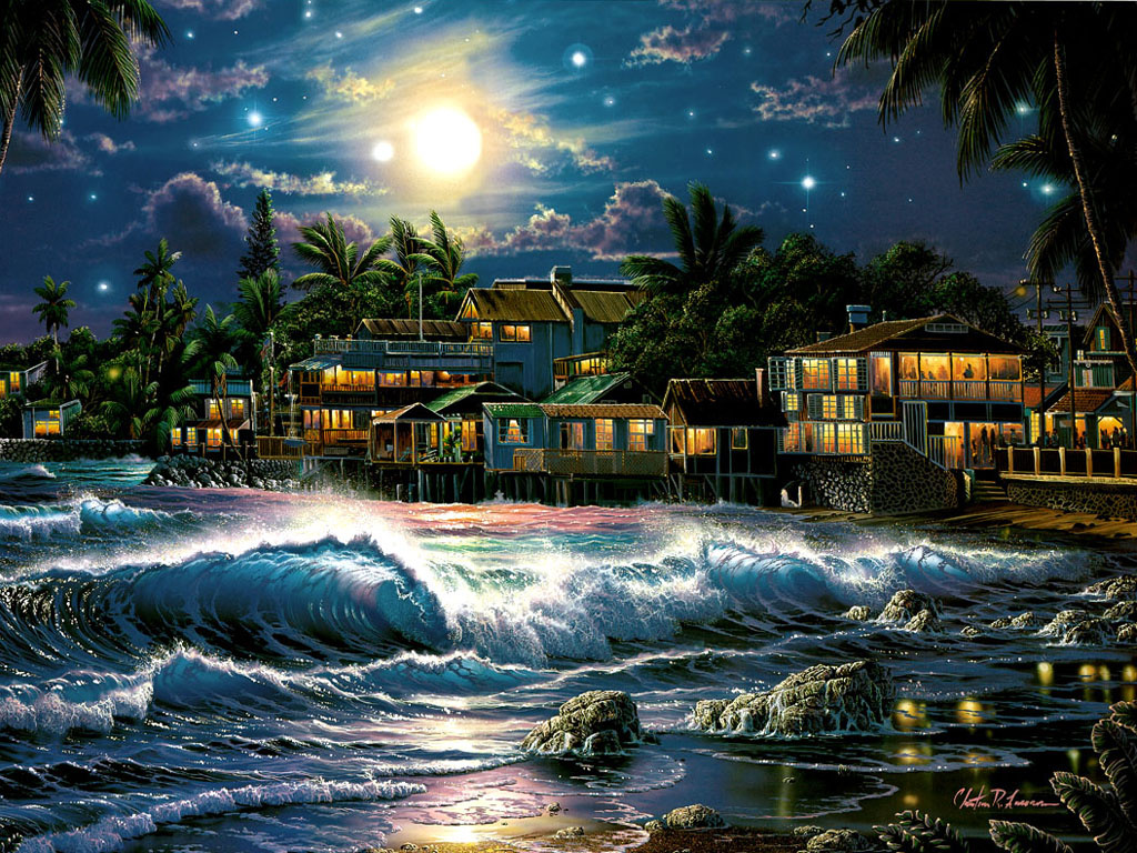 Валентина, анимашки открытки с морем