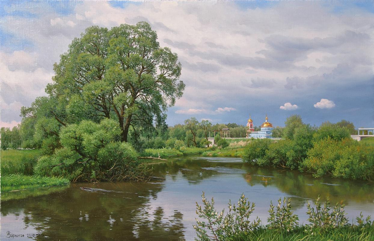 Alexander Vasilyevich Zoryukov. At the beginning of summer