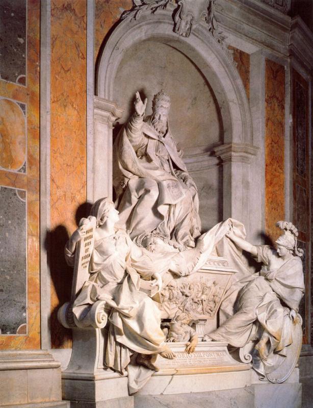 Камилло Раскони. Гробница папы Григория XIII