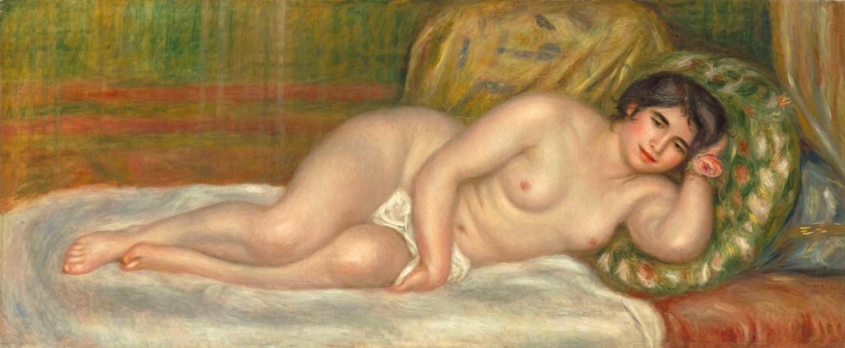 Pierre-Auguste Renoir. Reclining Nude (Gabrielle)