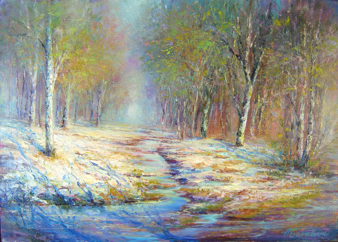 Andrei Ivanovich Boravik. Spring creeks