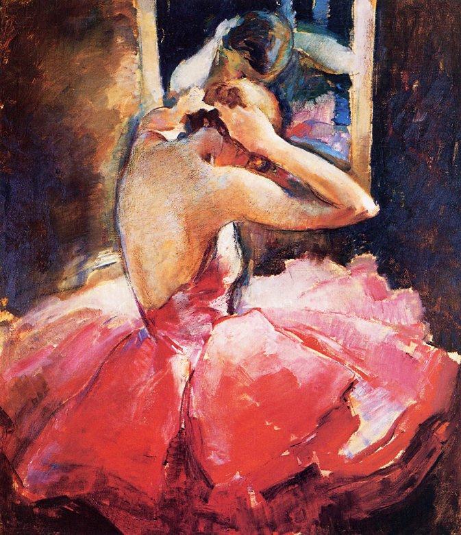 Джон Ла Гатта. Розовая балерина