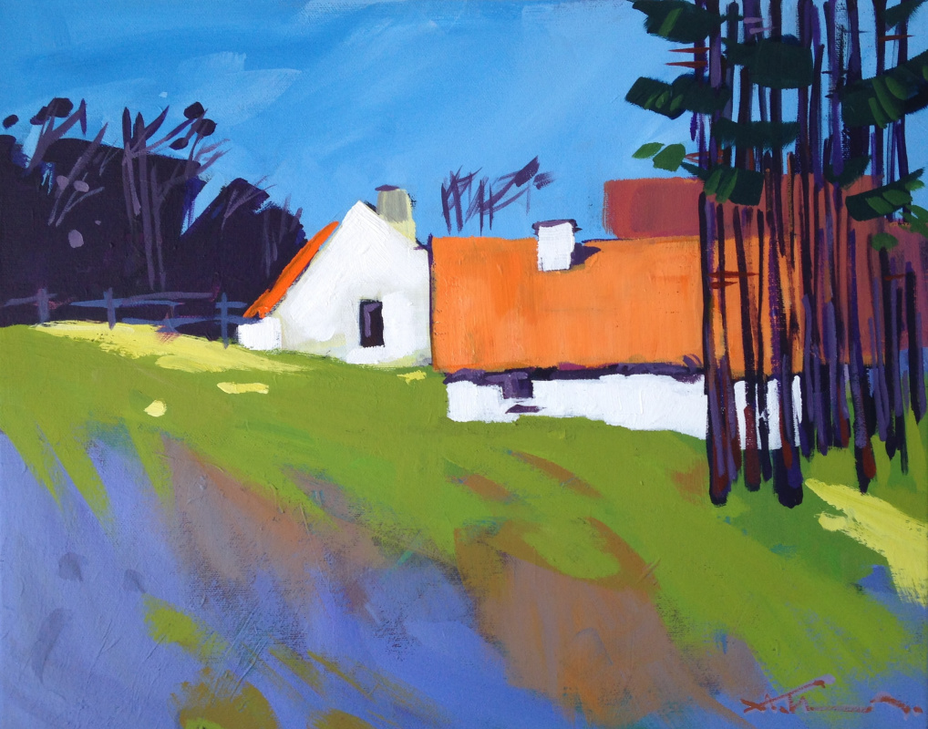 Alexey Ivanets. HOUSE ON THE HILL