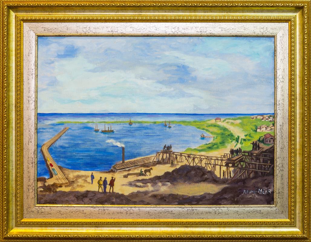 Rami Meir. Caspian coast of the XVII century.