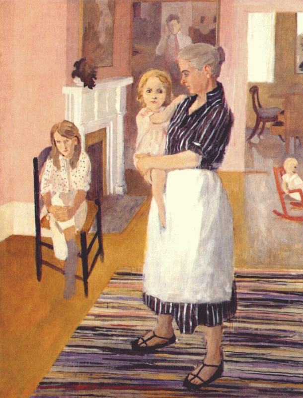 Фэрфилд Портер. Женщина с ребеном на руках