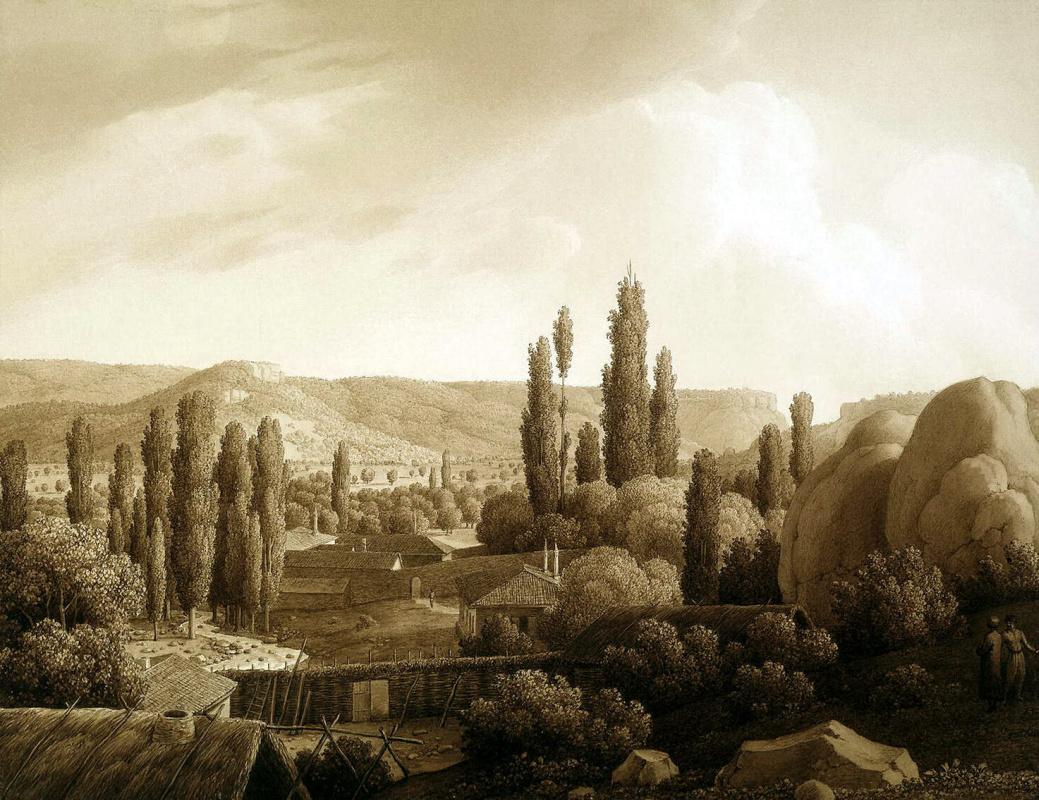 Карл фон Кюгельген. Вид долины Каралез