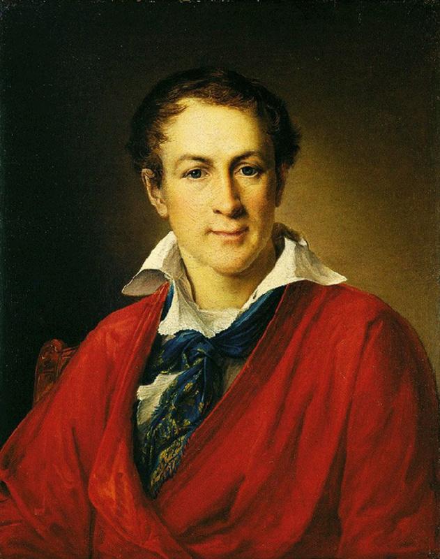 Portrait Of Fyodor Petrovich Krasheninnikov