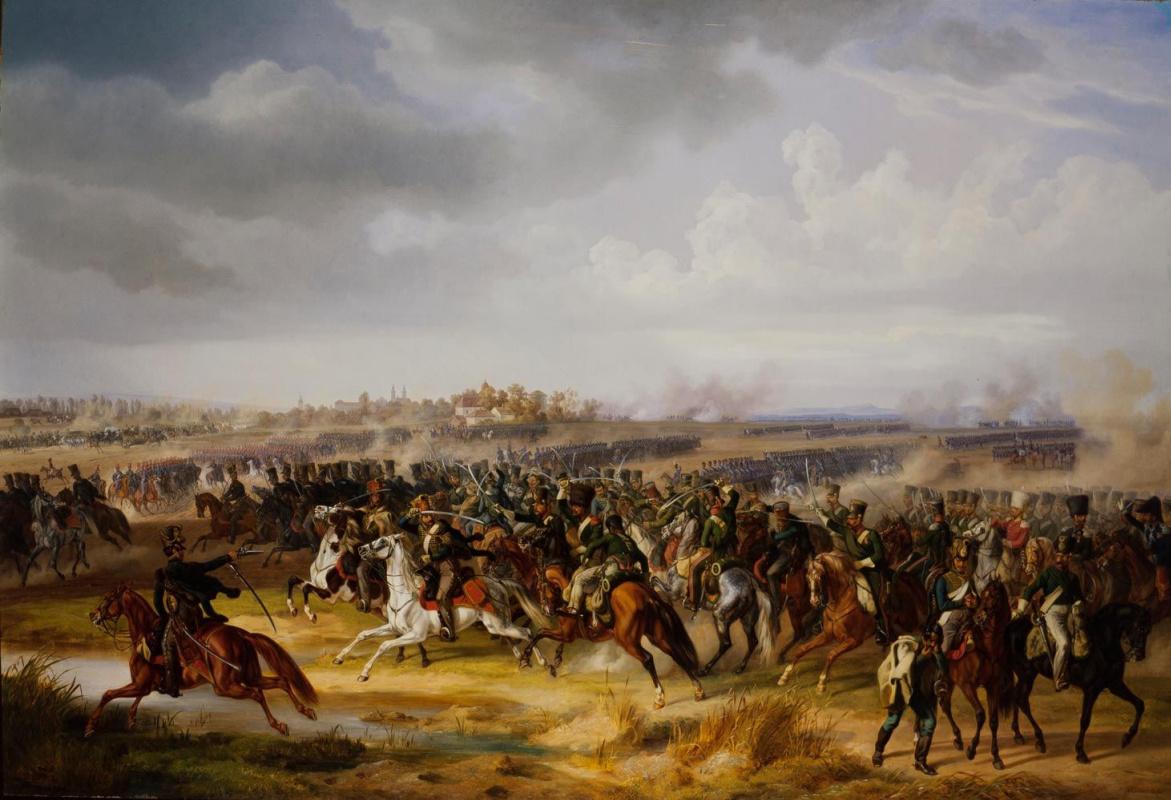 Альбрехт Адам. Битва за Папскую область 12 июня 1809 года