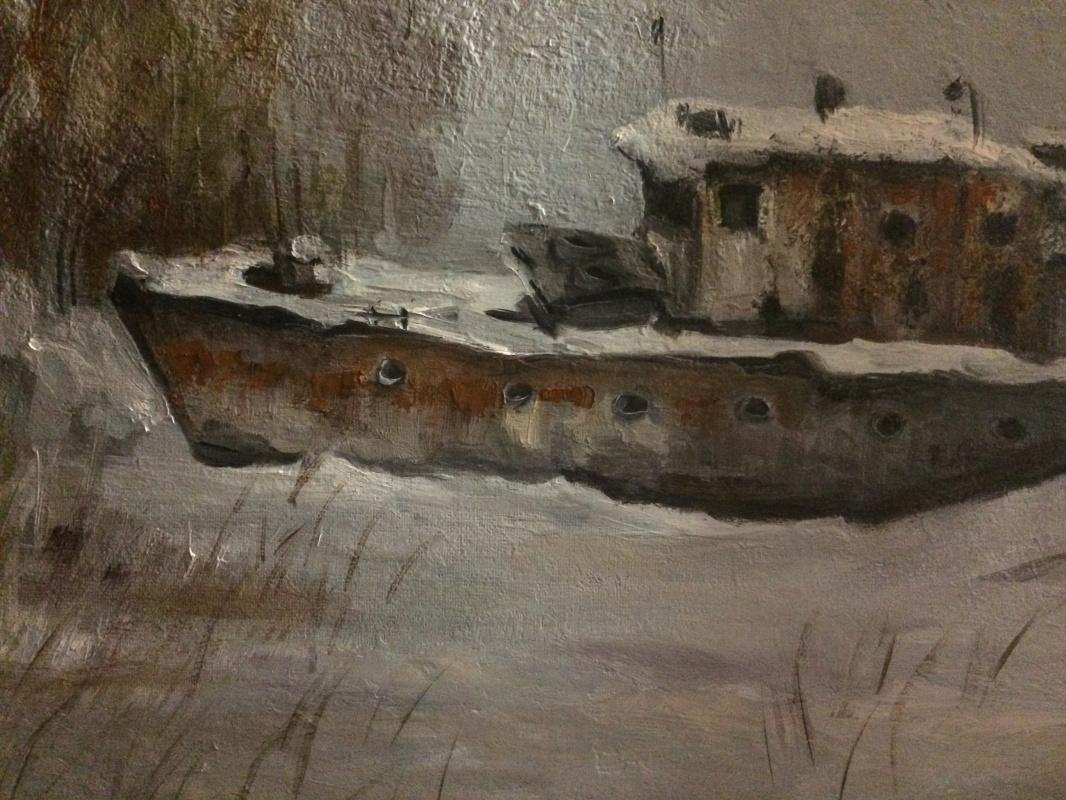 Edward Rudolfovich Votyakov. Winter lakes