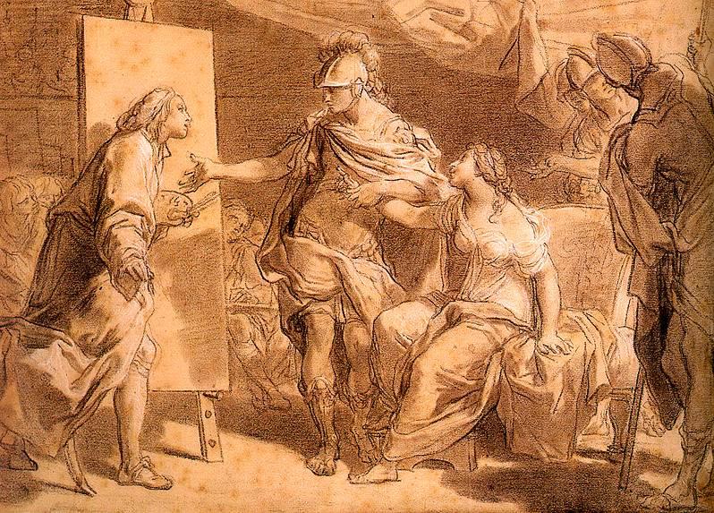Gaetano Gandolfi. Artist