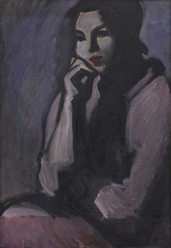 Андрей Владимирович Васнецов. Портрет Эли Леоновой