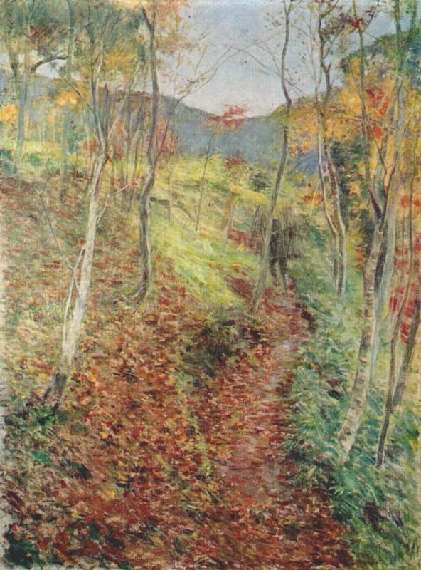 Курода Сейки. Осенние склоны