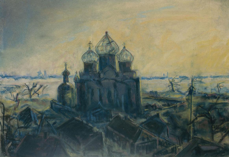 Святослав Теофилович Рихтер. Церковь в Перерве