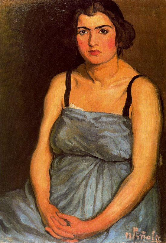 Nikanor Pinol. Portrait of a woman