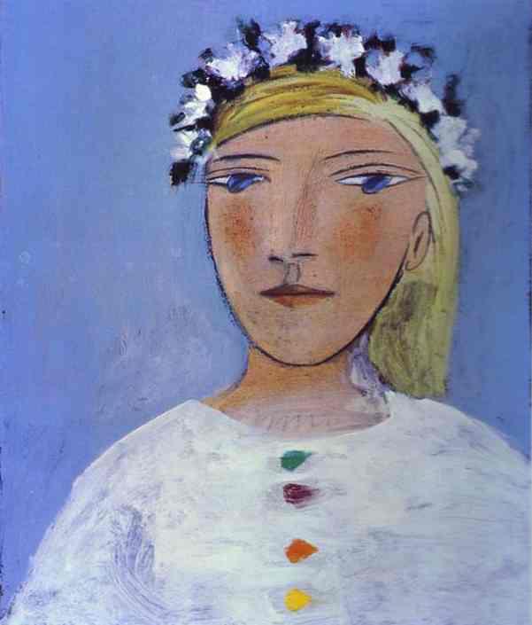 Пабло Пикассо. Мари-Терез в венке