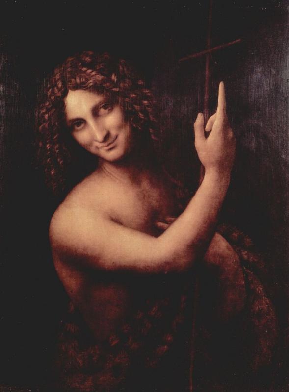 Леонардо да Винчи. Святой Иоанн Креститель