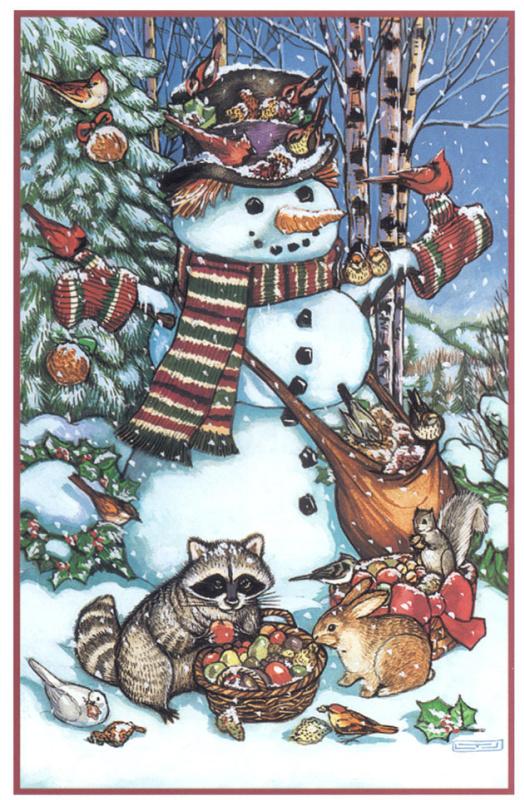 Лесной Снеговик