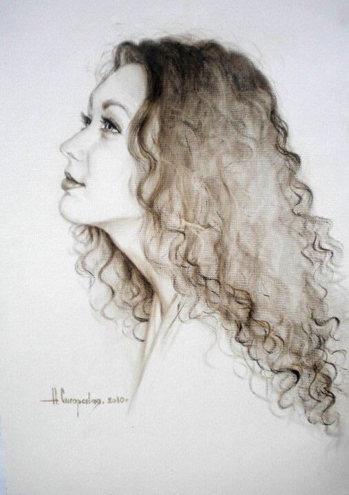 Natalia Sigorskaya. Portrait Of T. Merkulovich