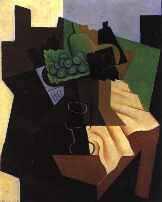 Хуан Грис. Гроздь винограда