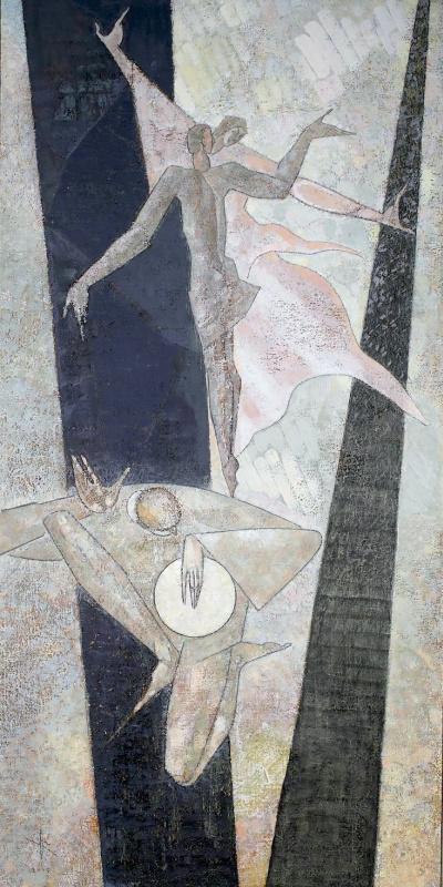 Леван Семенович Цуцкиридзе. Танец