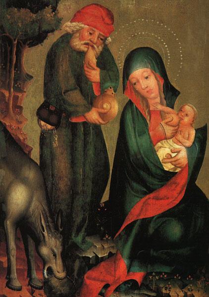 Бертрам. Богородица с младенцем