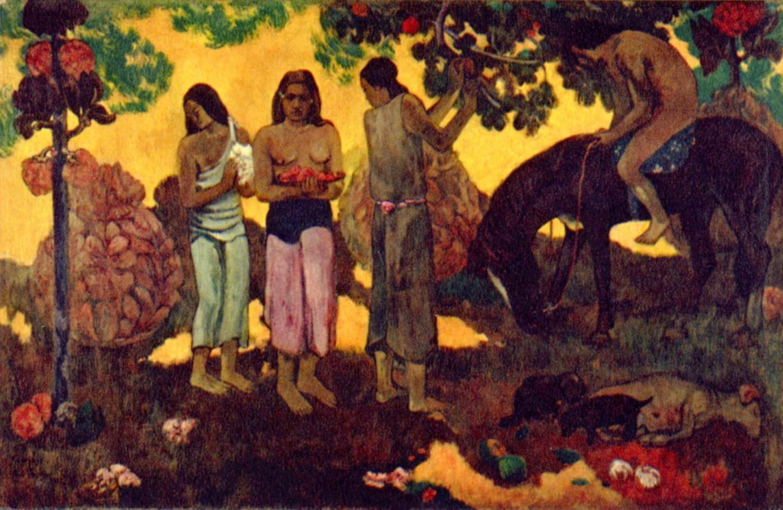 Поль Гоген. Сбор плодов (О, Таити, чудесный край!)