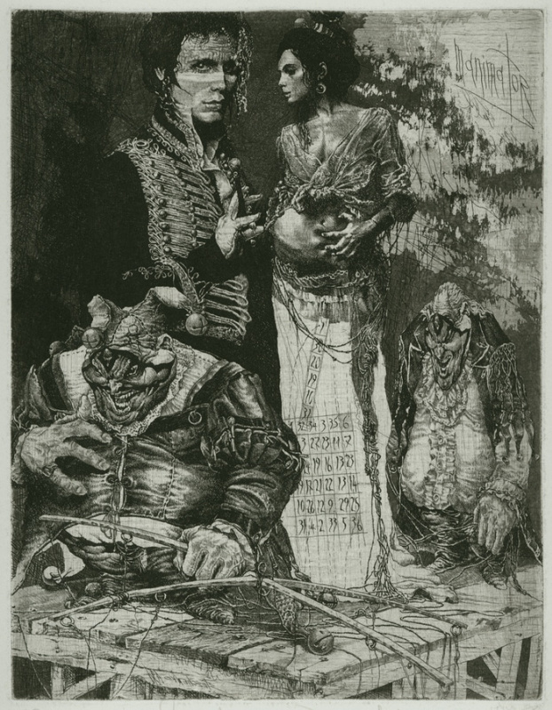 Alexandr Nikolaevich Steshenko. Продавец Кукол. Мастер кукол 5 лист