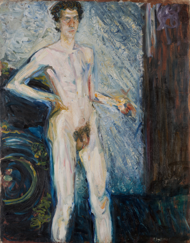 Richard Gerstl. Self-portrait in the Nude
