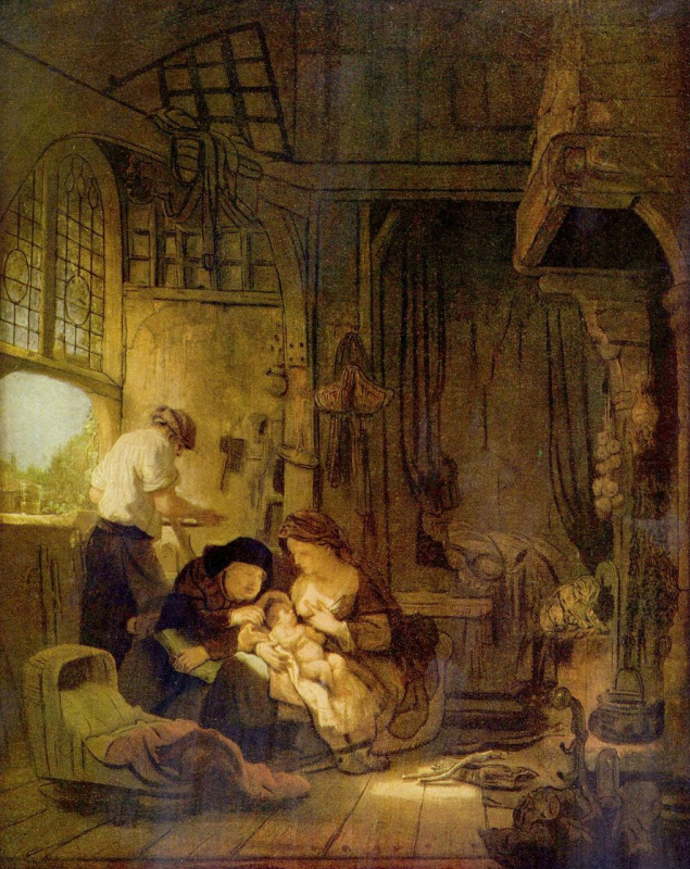 Фердинанд Балтасарс Боль. Святое семейство