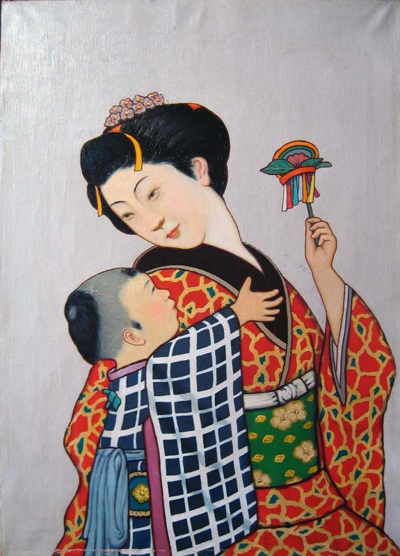 Андрей Владимирович Хан. Мать и сын