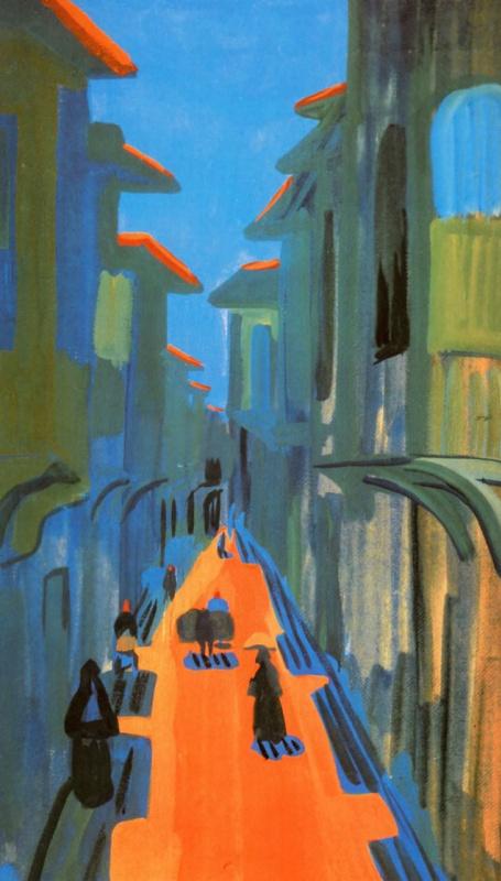Улица. Полдень. Константинополь