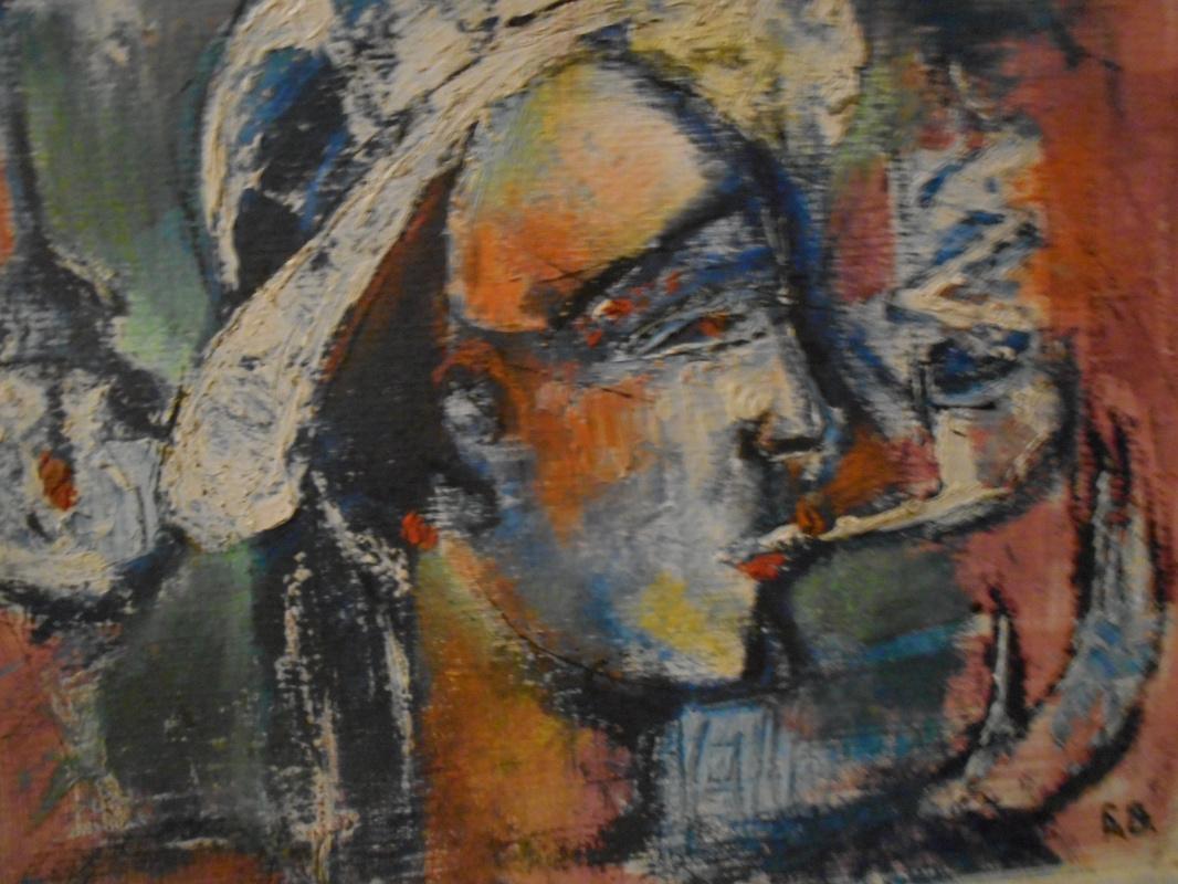 Nino Archilovna Givishvili. Phenomena in the interior.