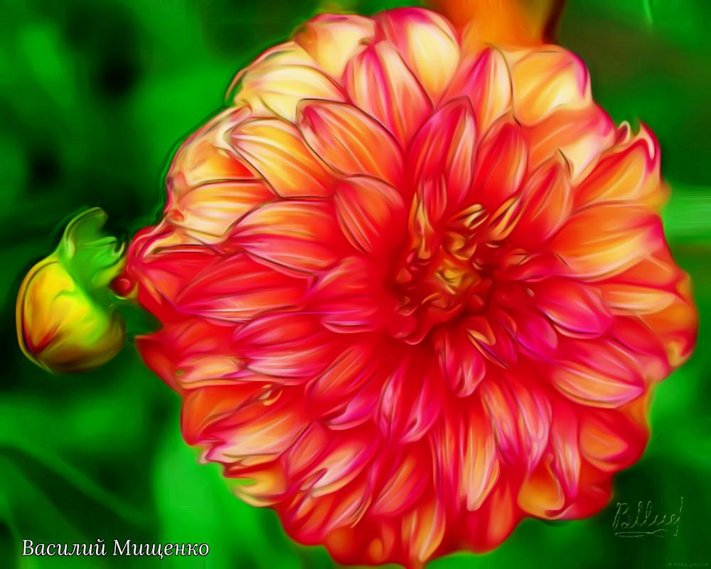 Vasiliy Mishchenko. Flowers 0121