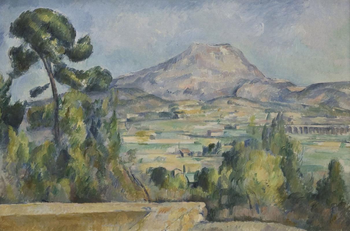 Поль Сезанн. Гора Сент-Виктуар