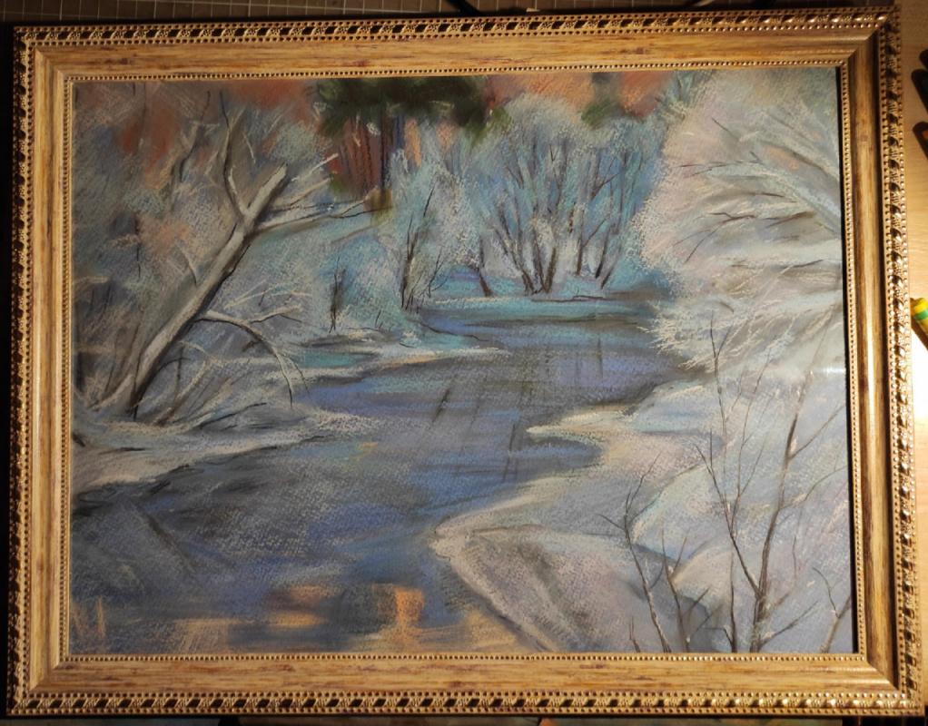 Ксения Михайловна Стеценко. Winter