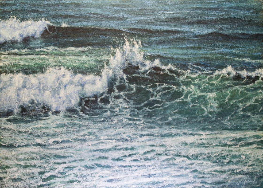 Valery Levchenko. № 575 Seascape.