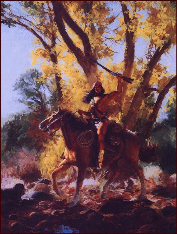 Джим Карсон. Осень апачей