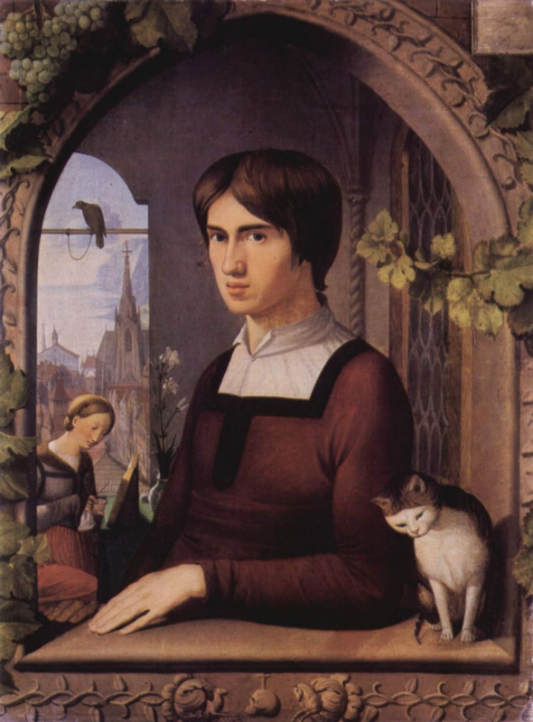 Johann Friedrich Overbeck. The Artist Franz Pforr