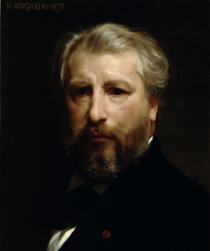 Адольф Вильям Бугро. Портрет художника